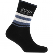 Product Image for BOSS HUGO BOSS Logo Sport Socks Black
